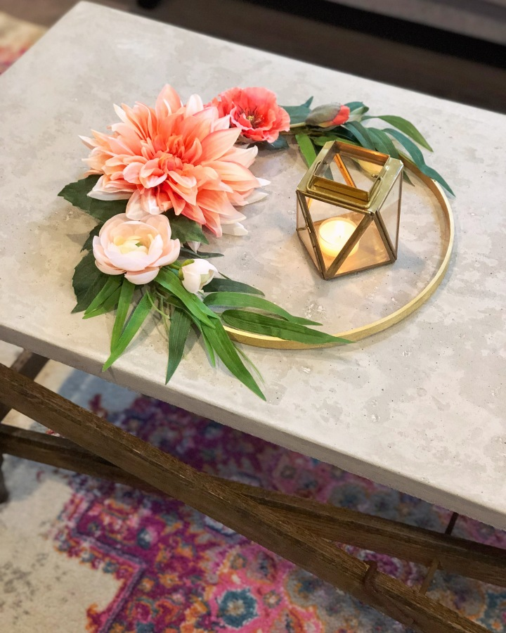 DIY Floral Home Decor