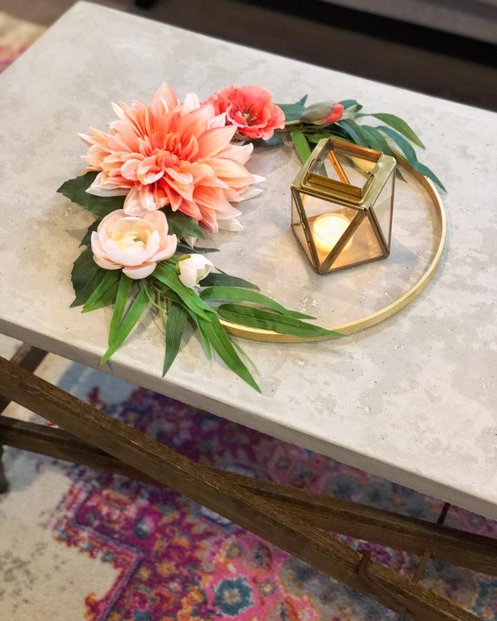 DIY Floral HomeDecor